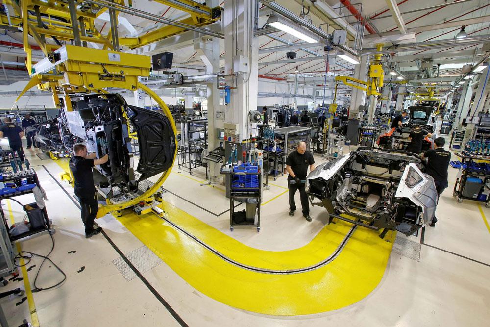 Lamborghini-factory