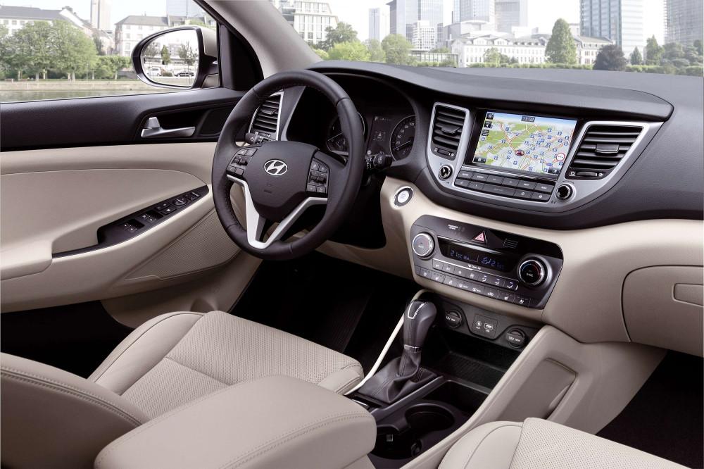 Hyundai Tucson_Interior