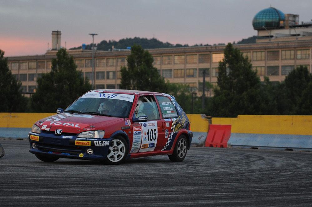 La peugeot 106 è una delle vetture più diffuse nei rally italiani