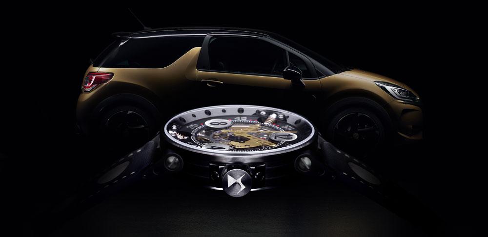 La versione BRC e il cronografo realizzato per l'occasione