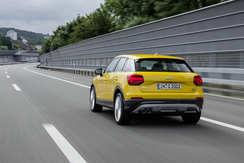 L'Audi Q2 rappresenta l'ingresso alla gamma Q di Audi