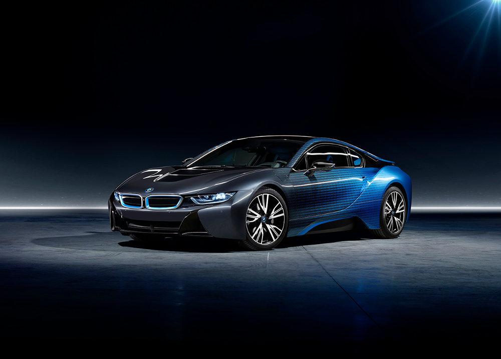 La BMW i8 Garage Italia