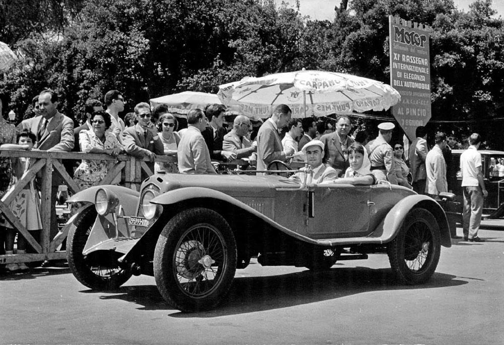 Roma Motor Show datato 1958