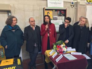 Al microfo la Presidente di ACI Roma Giuseppina Fusco durante la presentazione del sistema TOMMY