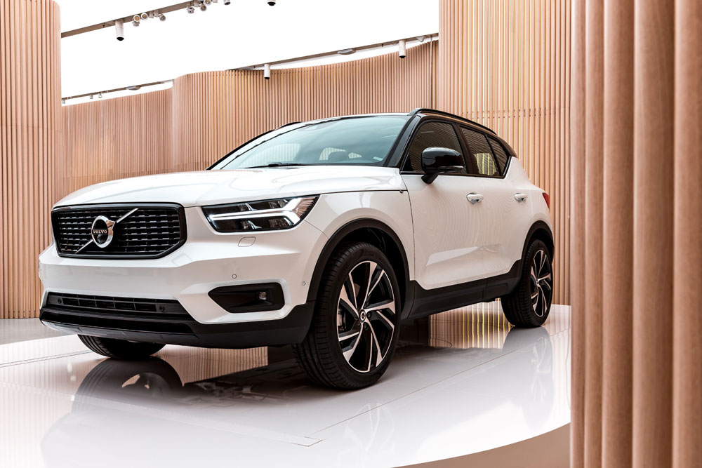 volvo xc40 a milano nuovo stile a battesimo rivista motor. Black Bedroom Furniture Sets. Home Design Ideas