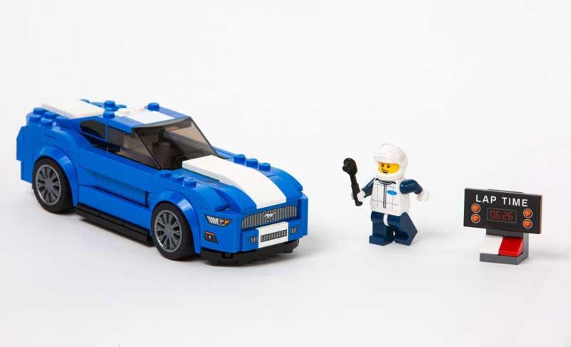 LEGO-Mustang