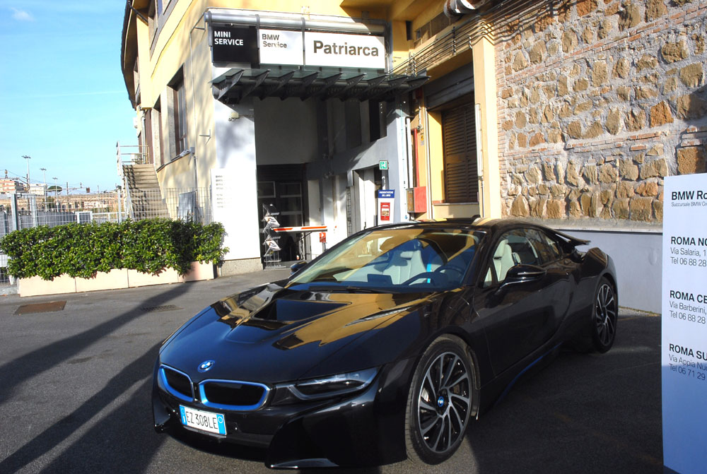 La BMW i18 madrina dell'evento