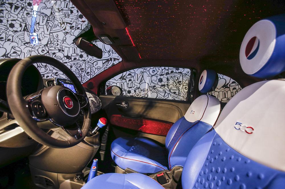 Fiat Pepsi Car